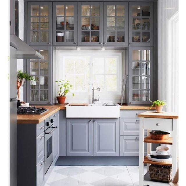 schöne, graue Küche Küche Pinterest Kitchens, Kitchen - regale für die küche