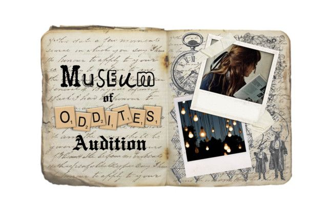 Museum of Oddities Character Audition Form and Template - audition form