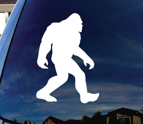 Bigfoot The Myth The Legend Decal//Sticker Bumper Sticker Window Decal Sasquatch
