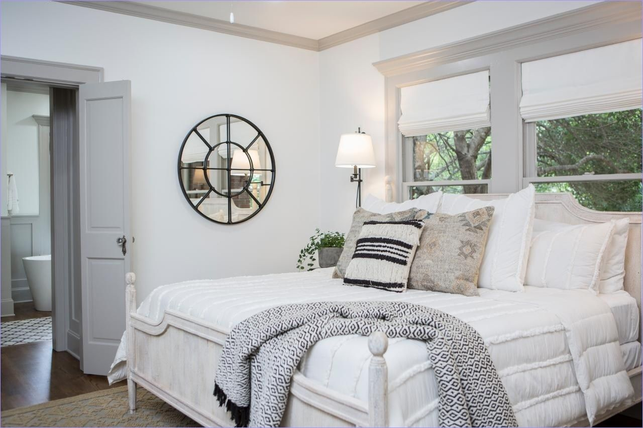 Joanna gaines master bedroom bedding   Cozy and Stunning Joanna Gaines Bedroom Decorating Ideas