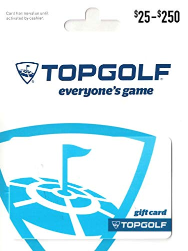 Amazon Com Topgolf Gift Card 50 Gift Cards Cards Gift Card Gifts