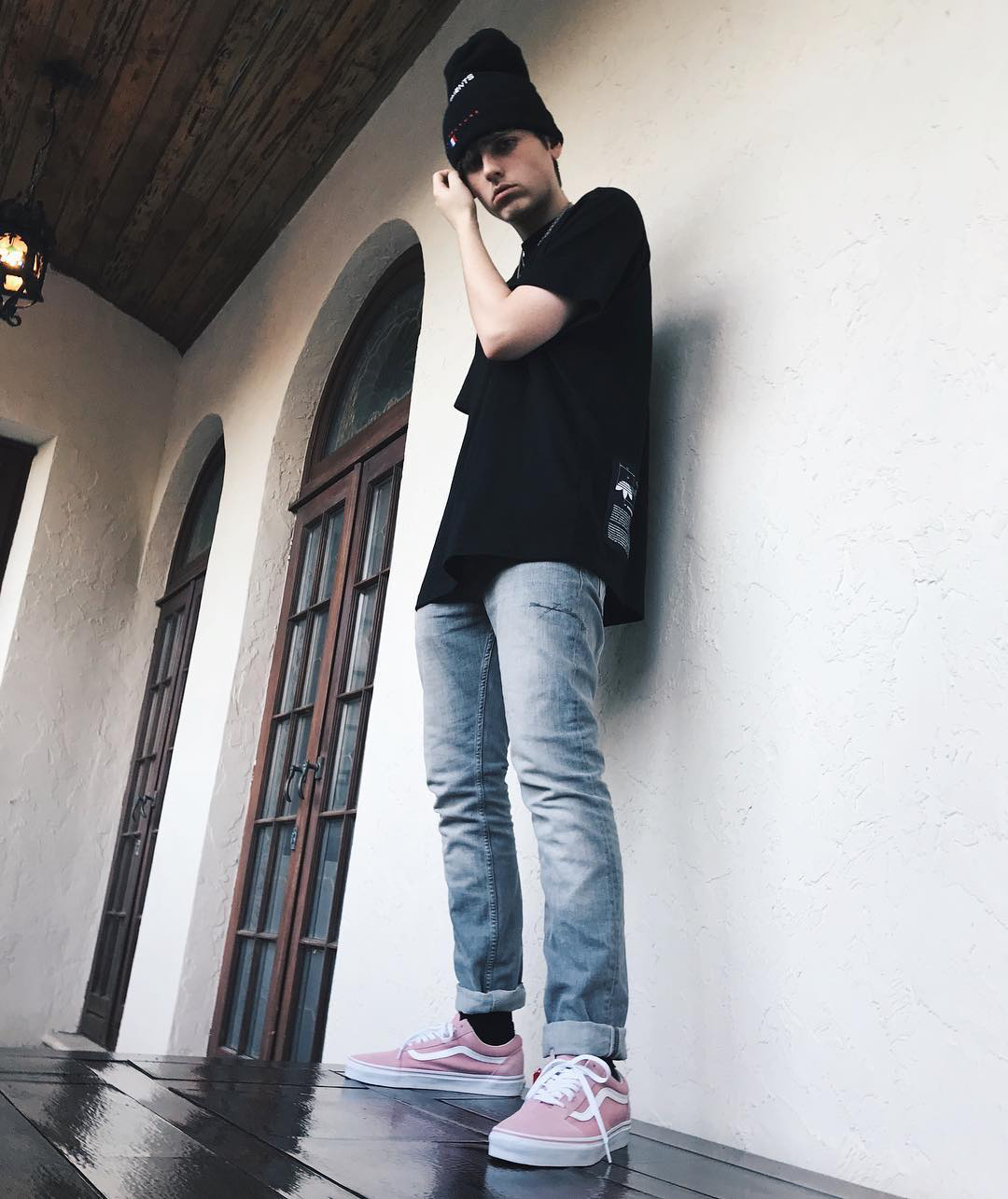 8183785c7c Chris Miles x Zephyr Pink Vans Old Skool