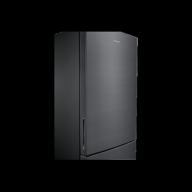Samsung 458L Fridge Freezer Bottom Mount, Black Inox