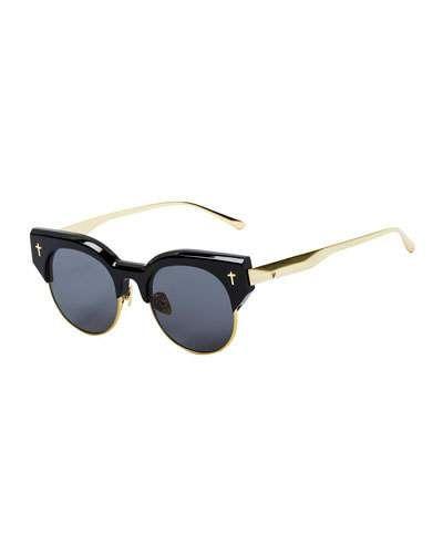 fcc2b48e384 Valley Eyewear ADCC II Round Semi-Rimless Sunglasses