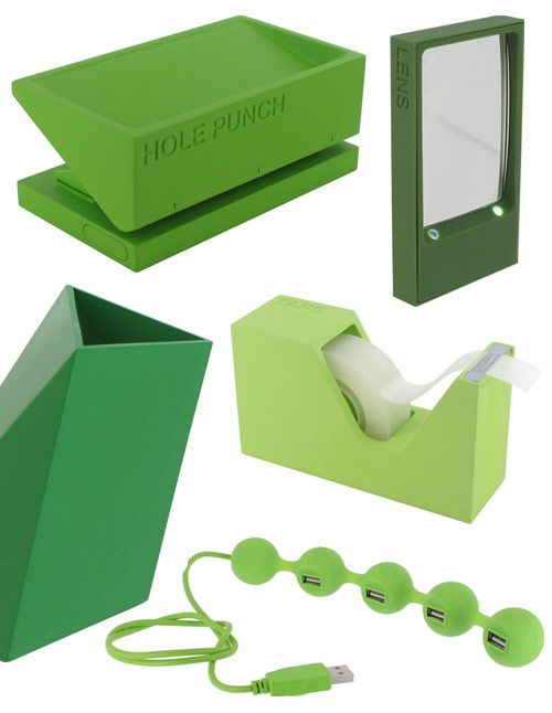 Green Lexon Design Office Supplies