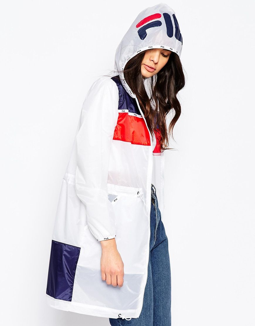 Image 3 of Fila Hooded Festival Parka Jacket | ❥ Sportswear Love ...