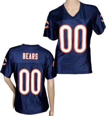 Amazon.com  Chicago Bears NFL Womens Team Fashion Dazzle Jersey ... 7219f8653