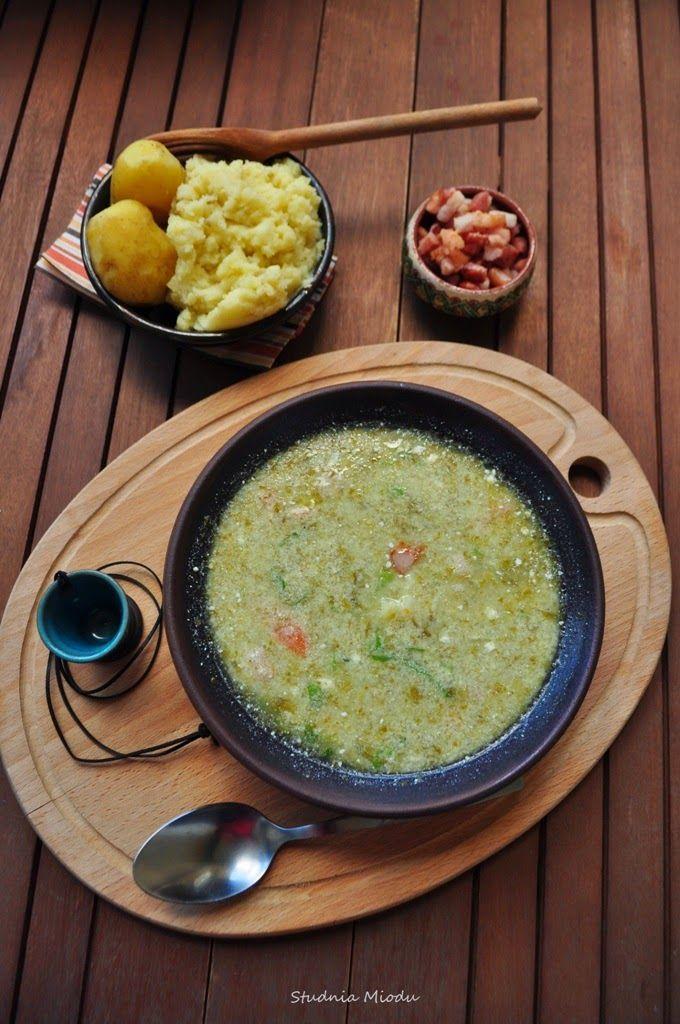 Sałaciorka Tradycyjna Kuchnia Podhalańska Zupa Z Sałaty I
