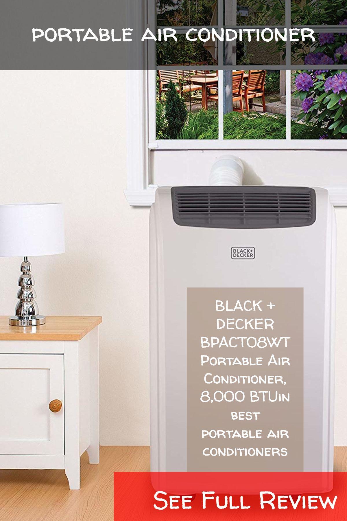 portable air conditioner / BLACK + DECKER BPACT08WT
