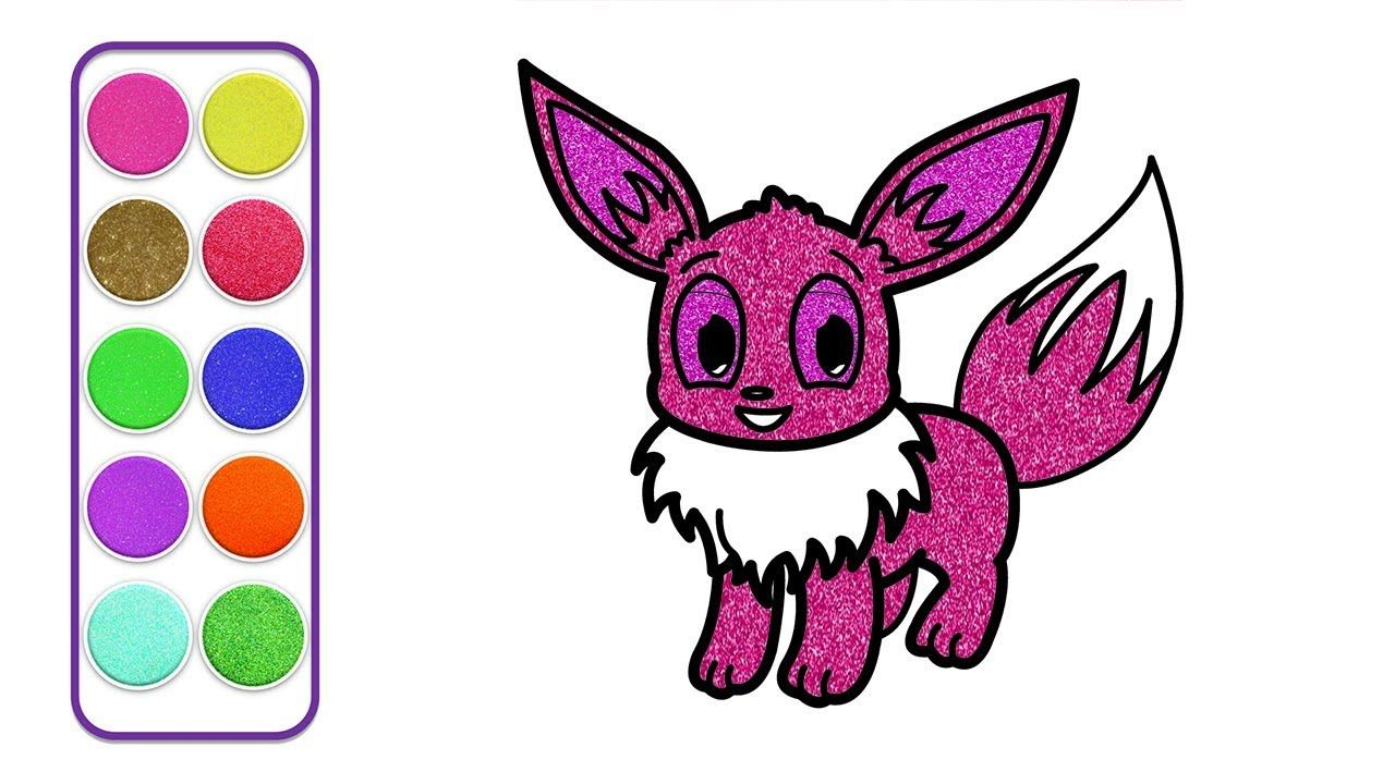 Cute Mew Coloring Page