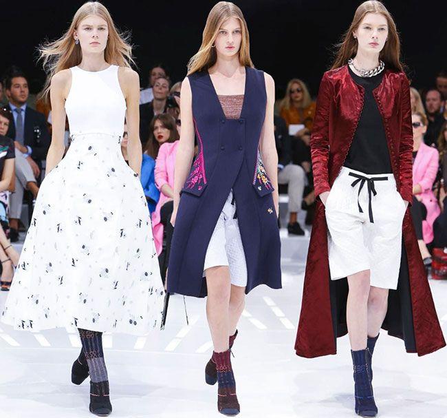Christian Dior Spring/Summer 2015 Collection - Paris Fashion Week  #PFW #ParisFashionWeek #fashionweek