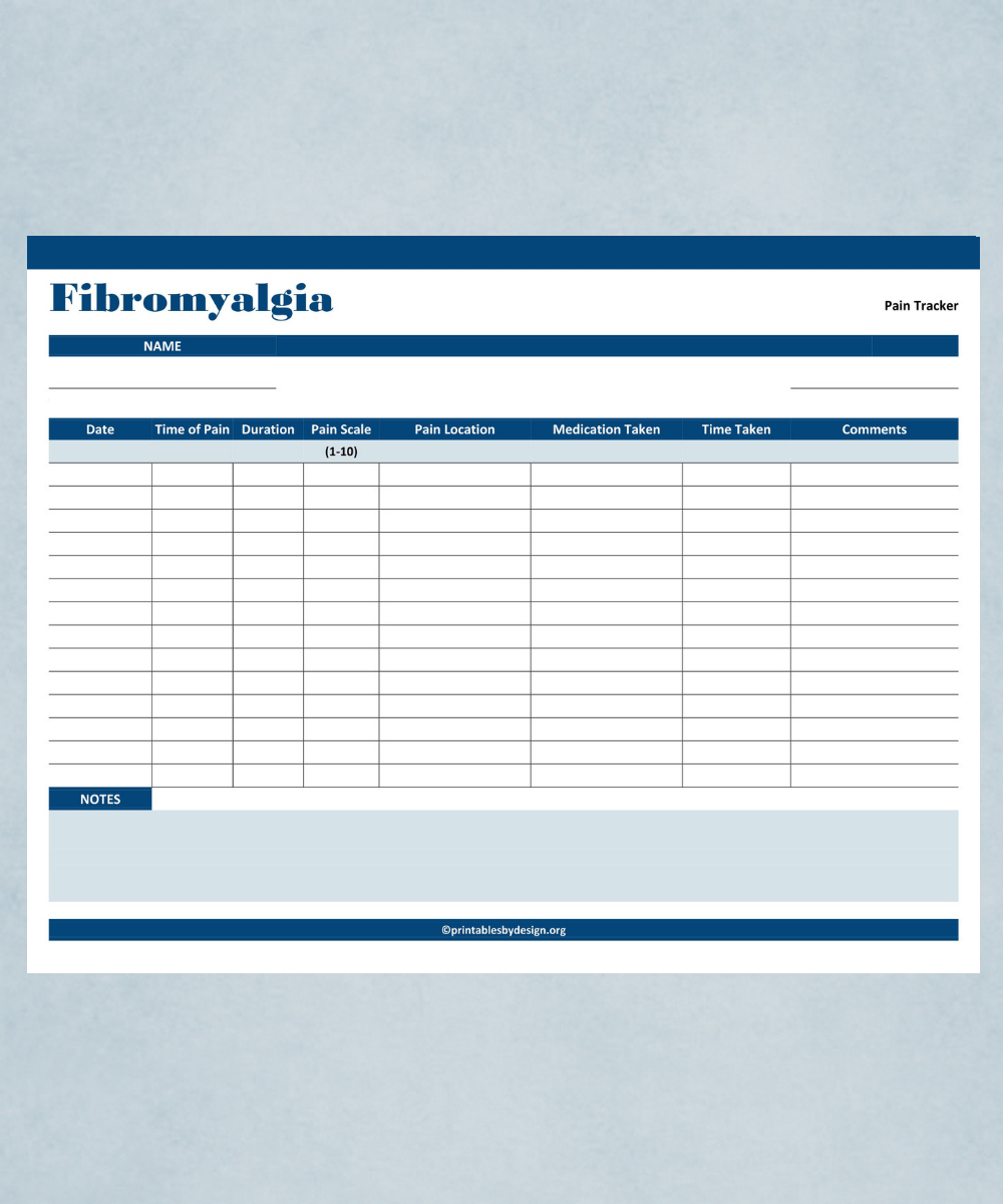 Medical Records – Printables By Design