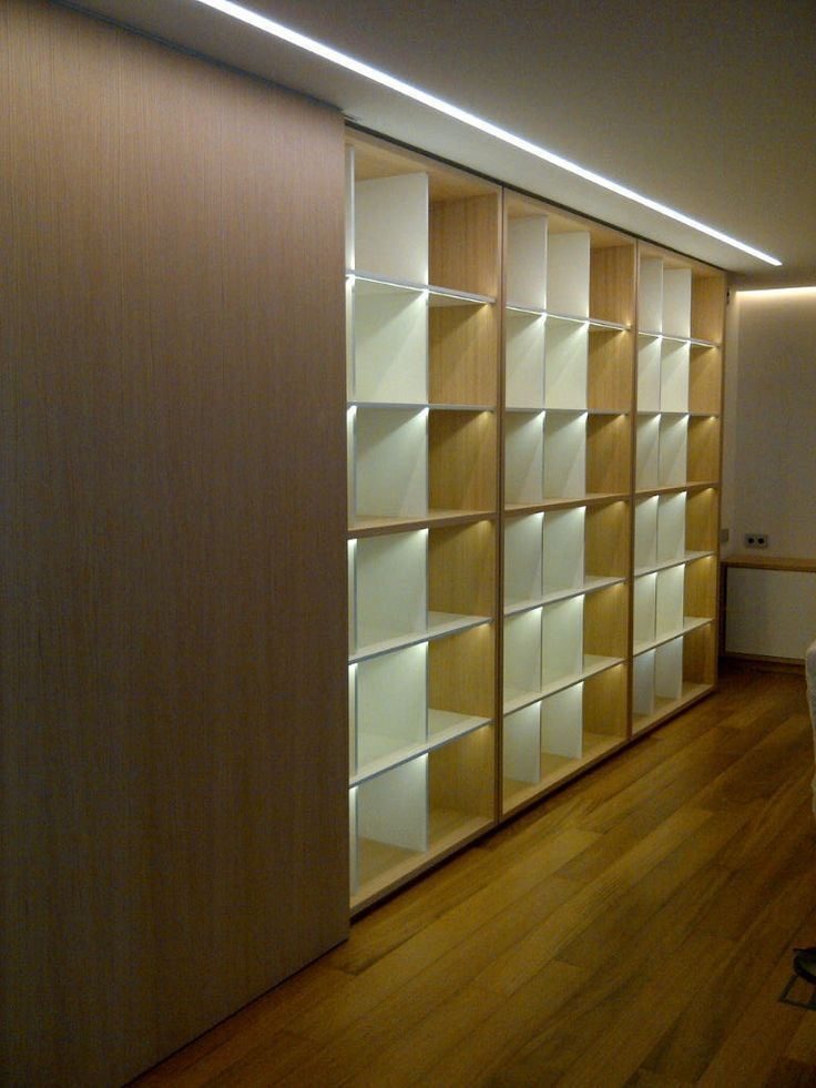iluminación led en mobiliario Ideas para el hogar Pinterest