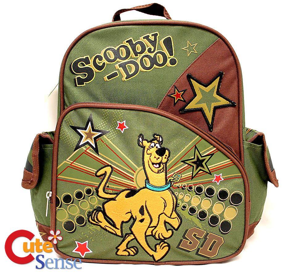 "Scooby-Doo School Backpack  Medium Bag -12"" Running"