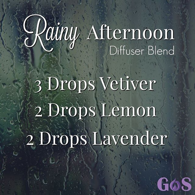 The combination of Vetiver, Lemon and Lavender in this Rainy