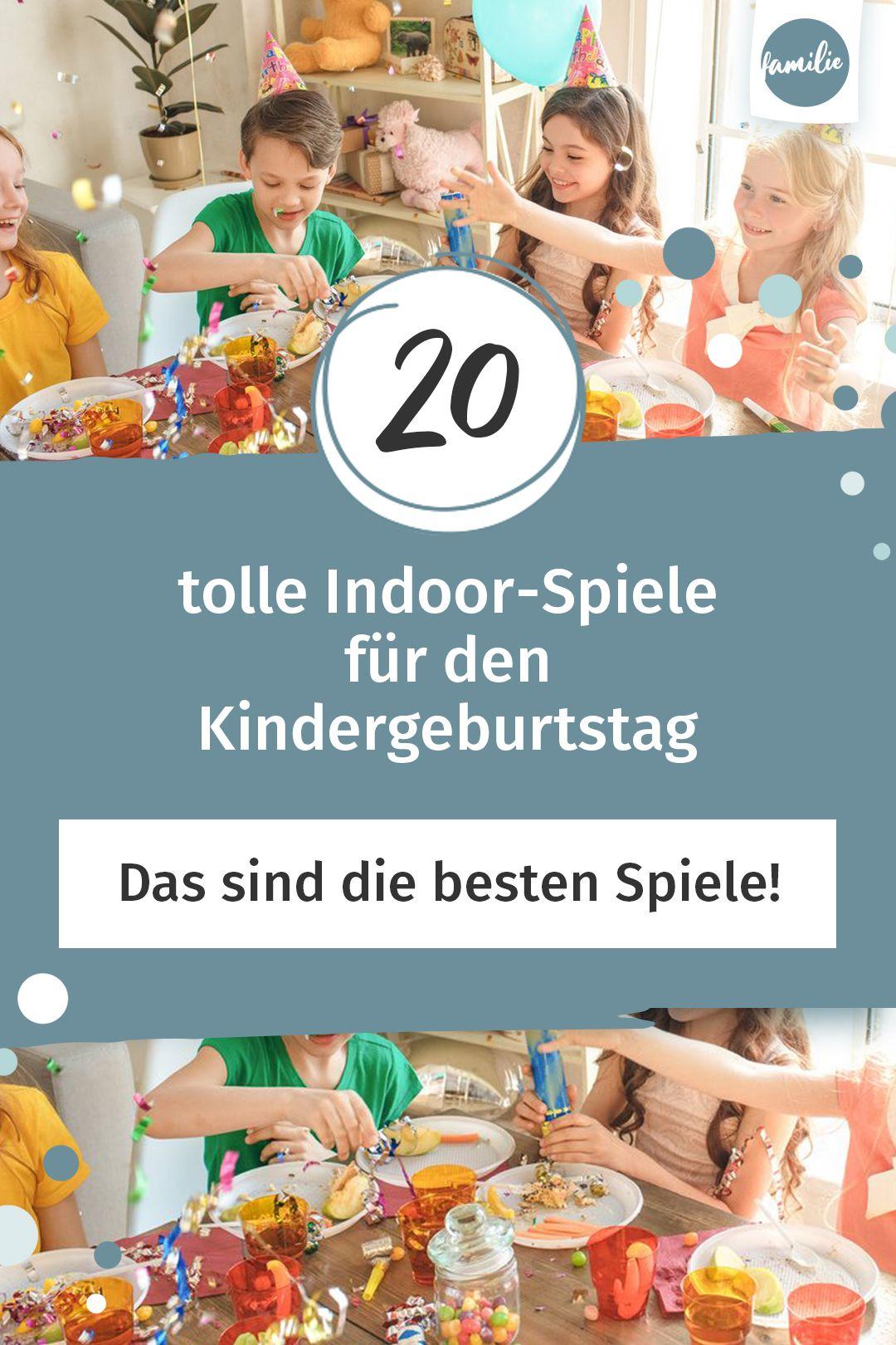 20 tolle Indoor-Spiele für den Kindergeburtstag