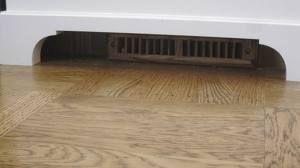 Heat Vent Under Vanity Bay Window Seat Window Seat Traditional Bedroom Decor