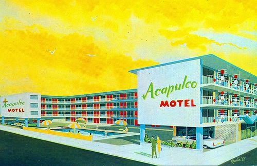 Acapulco Motel 117 S Kentucky Ave Atlantic City Nj Beach Town Atlantic City Acapulco