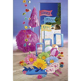 Dekoidee Beachball Bunte und strahlende Farben, wie gelb, pink und gelb gehören in eine Sommerdekoration wie Wasserbälle und Bastschirme. Bei sommerlichen Temperaturen darf eine Runde Beachball auch nicht fehlen. http://www.decowoerner.com/de/Saison-Deko-10715/Sommer-10744/Komplette-Dekoideen-Sommer-11325/Dekoidee-Beachball-639.453.00.html