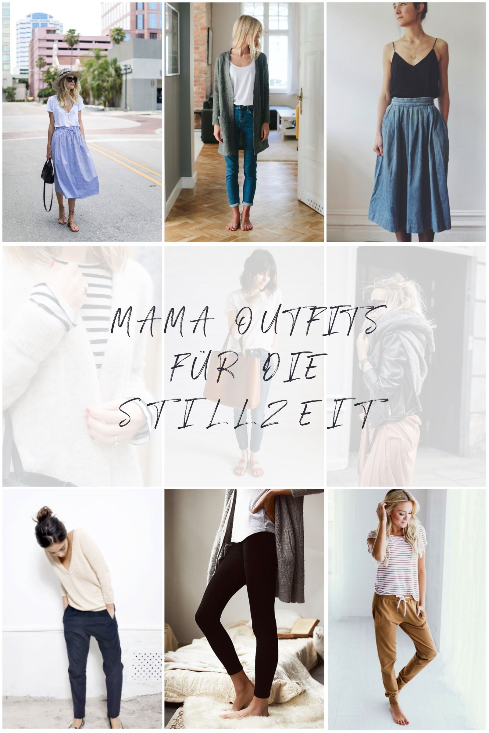 Mama Outfits für die Stillzeit | Mutter kleider, Sommer ...