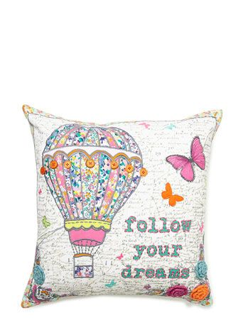 Follow Your Dreams Cushion Bhs Bright Vintage Five Star Rated Product Available On Line Now At Co Uk