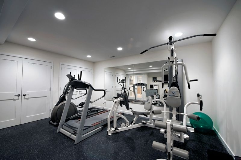 Very Modern Basement Remodel By Moss   Modern   Home Gym   Dc Metro   Moss  Building And Design