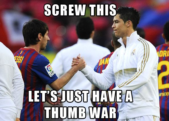 Ronaldo Vs Messi Otherwise Known As El Clasico With Images