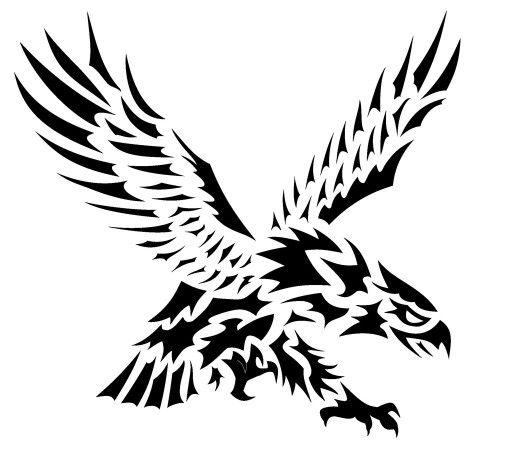 Cool Celtic Tribal Eagle Tattoo Design Tribal Eagle Tattoo Eagle Tattoo Eagle Tattoos