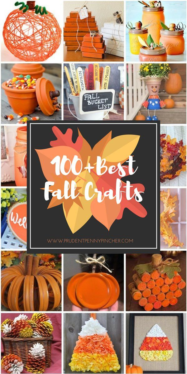 100 Best Fall Crafts For Adults Diy Easy