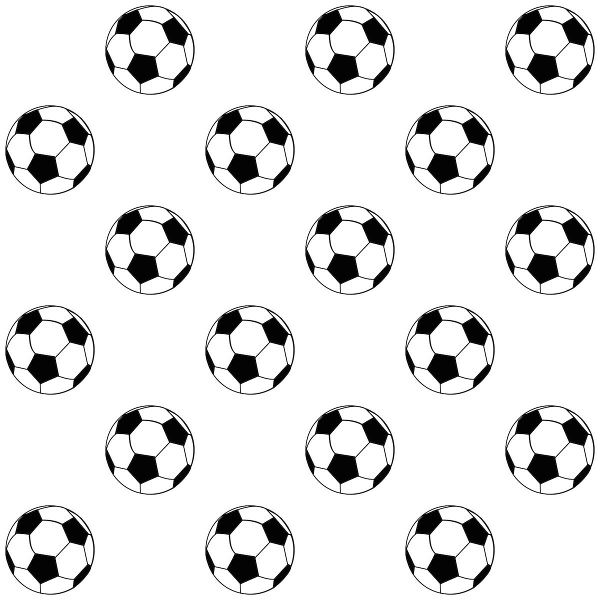 Football or soccer coloring pages printable games - Free Printable Soccer Pattern Paper