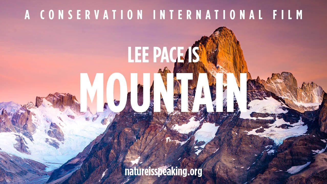 Wistia Video Thumbnail Nature Is Speaking Lee Pace Is Mountain Nature Is Speaking Lee Pace Conservation International