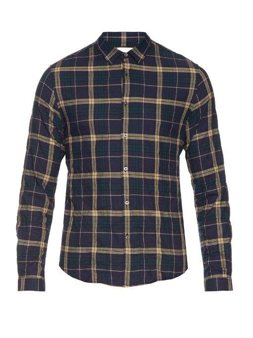 e2e644233 GUCCI Checked Cotton-Flannel Shirt. #gucci #cloth #shirt | Gucci Men ...
