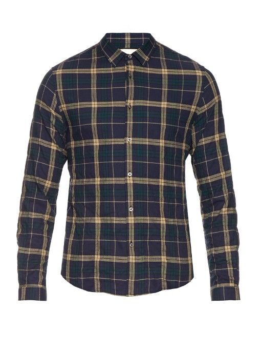 3ffda98e6c5 GUCCI Checked Cotton-Flannel Shirt.  gucci  cloth  shirt