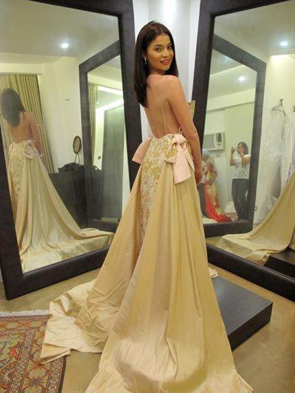 Pitoy Moreno Wedding Gown