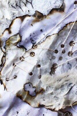 [영국유학,패션포트폴리오,리서치북] Fabric manipulation,burnt fabric : 네이버 블로그 #fabricmanipulation