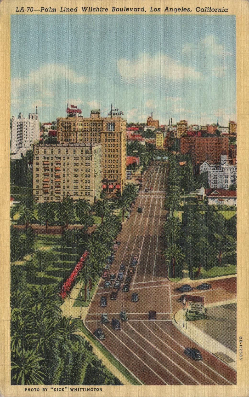 1930 S L A Postcard California Postcard Vintage Los Angeles Vintage California