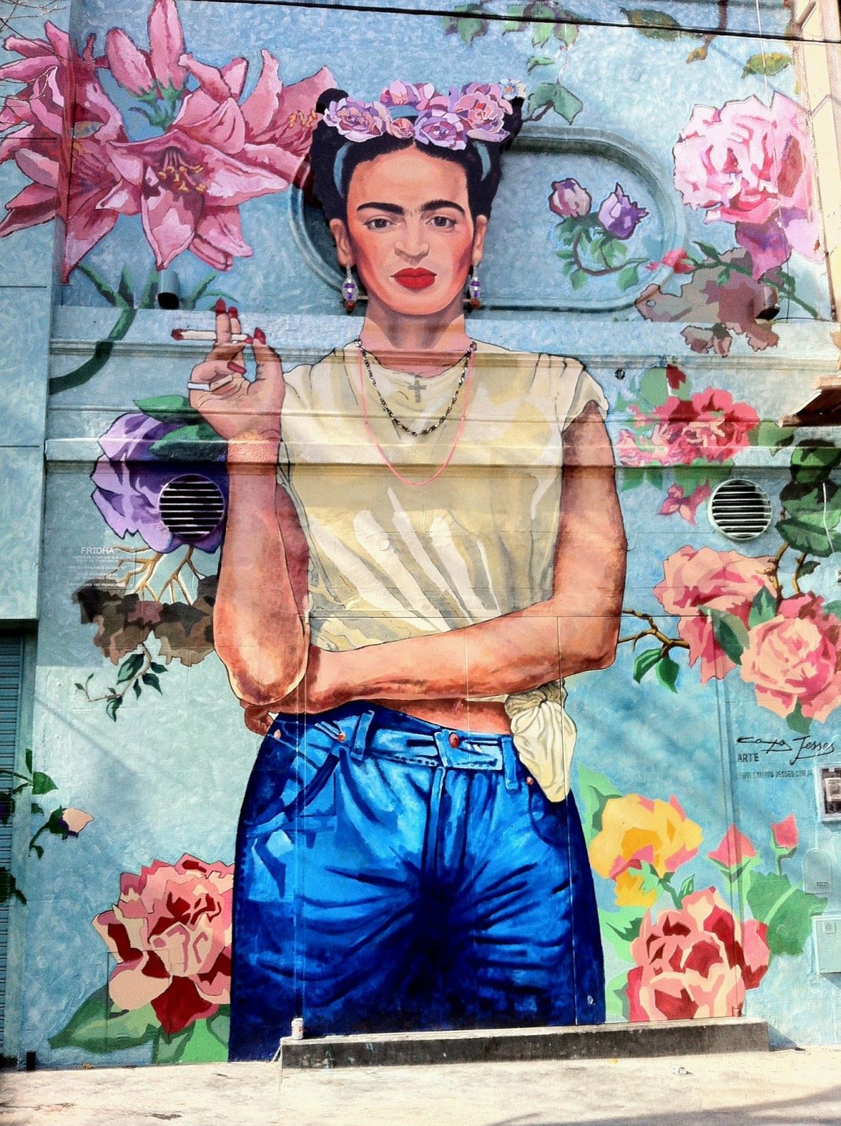 Mural Frida Kahlo Buenos Aires Direccion