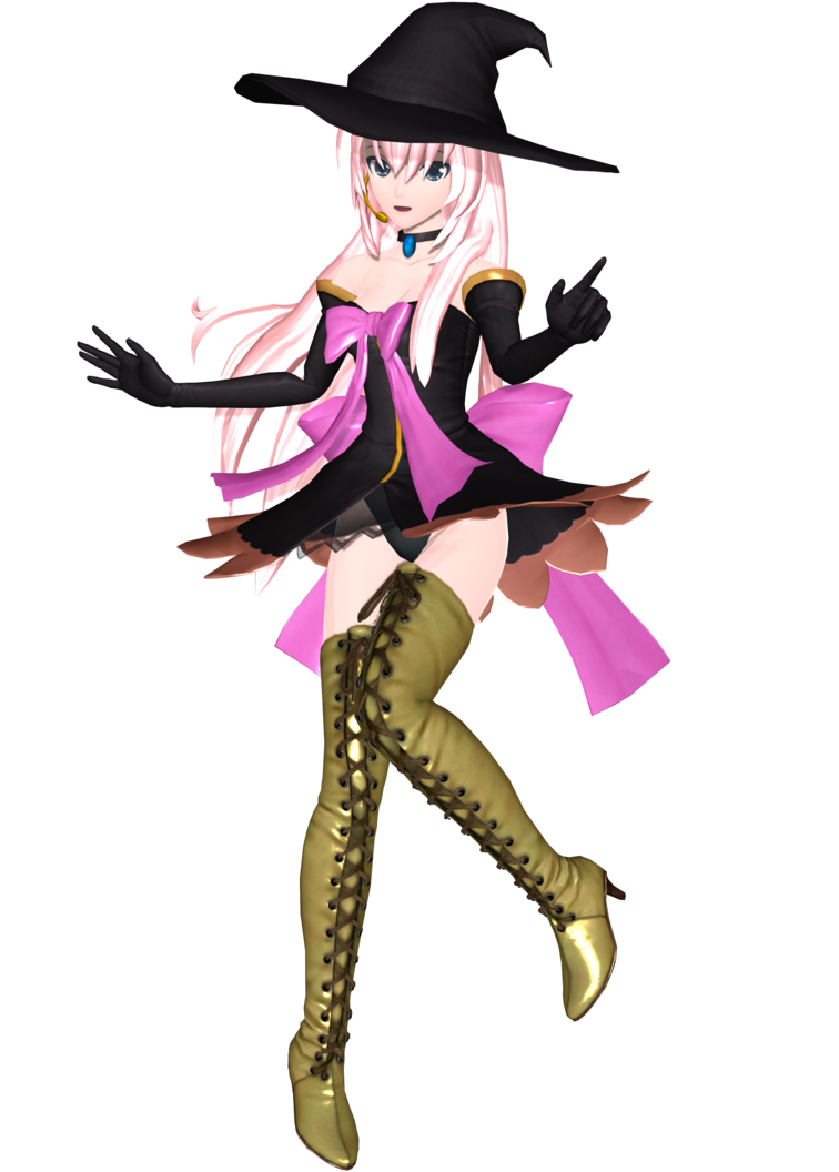 Project Diva Arcade Future Tone Witch Style Luka by Luke-Flame on ...