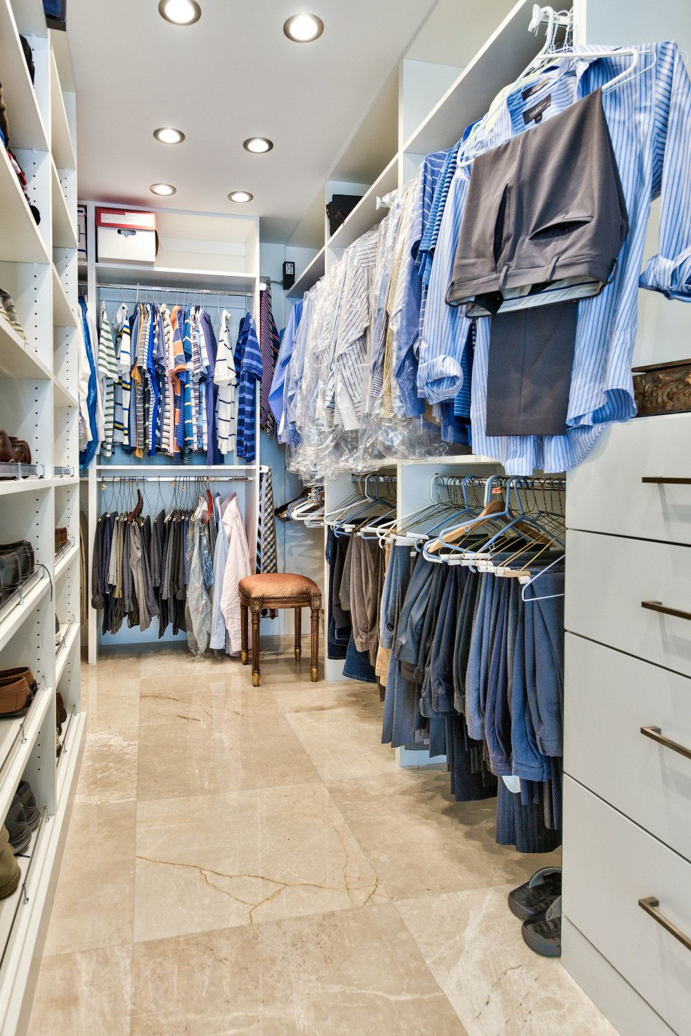 Is There Anything More Luxurious Than A Custom Closet? #Naples #remodeling # Closets