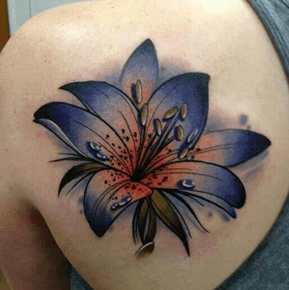 Lily Tattoo Designs And Meanings Lily Flower Tattoos Lily Tattoo Design Tiger Lily Tattoos