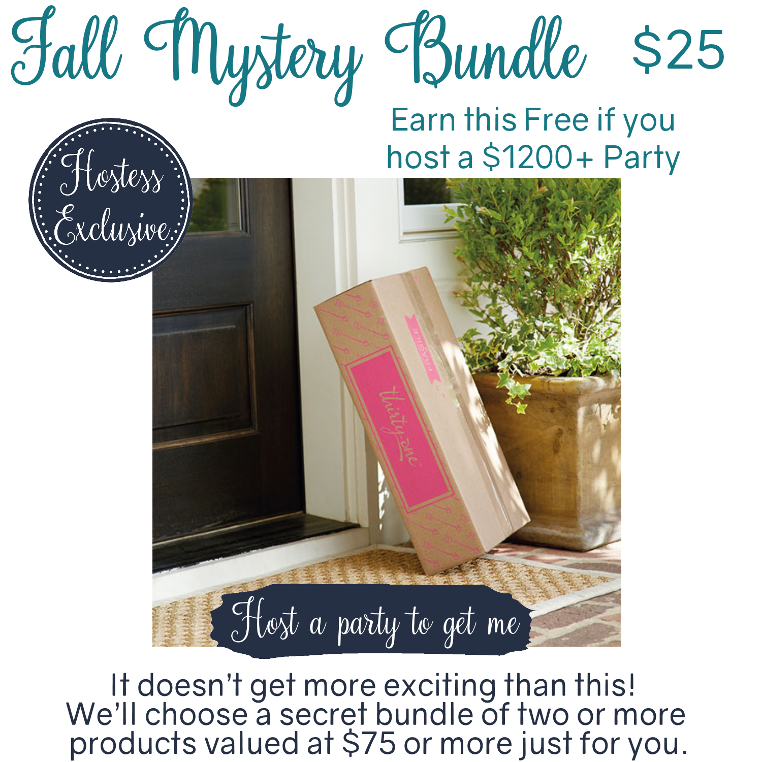 5d5a53d2d2ec Thirty-One Fall Mystery Bundle Hostess Exclusive