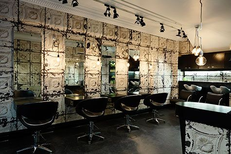 hair salon lighting ideas. unico hair salon in melbourne by kate challis with gorgeous merci u0027brooklyn tile lighting ideas s
