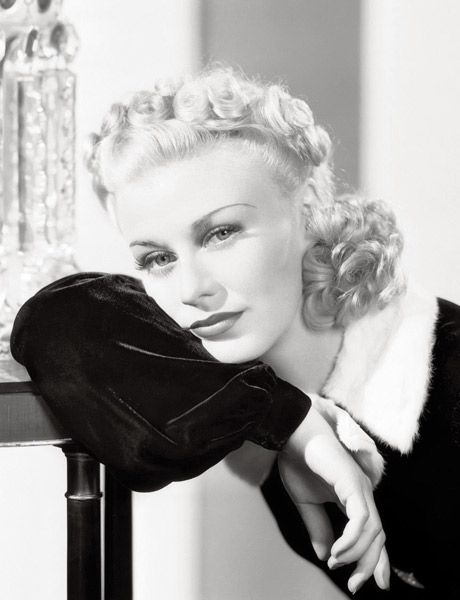 hair, fur, flawless perfection (ginger rogers)