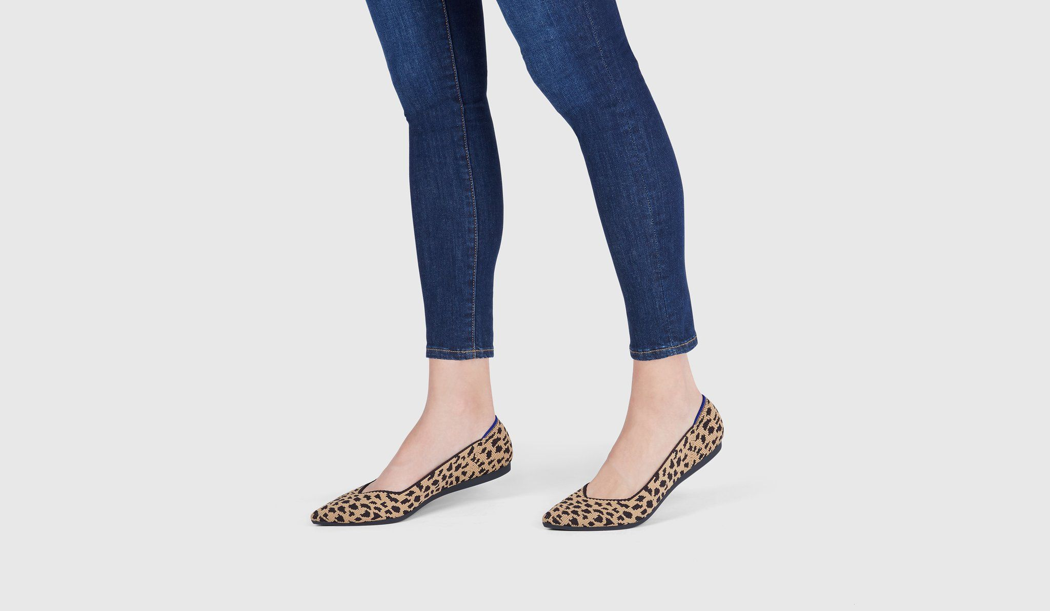c413a6743a03 Leopard print pointed toe Rothy's //versatile shoe: one with the ease of a