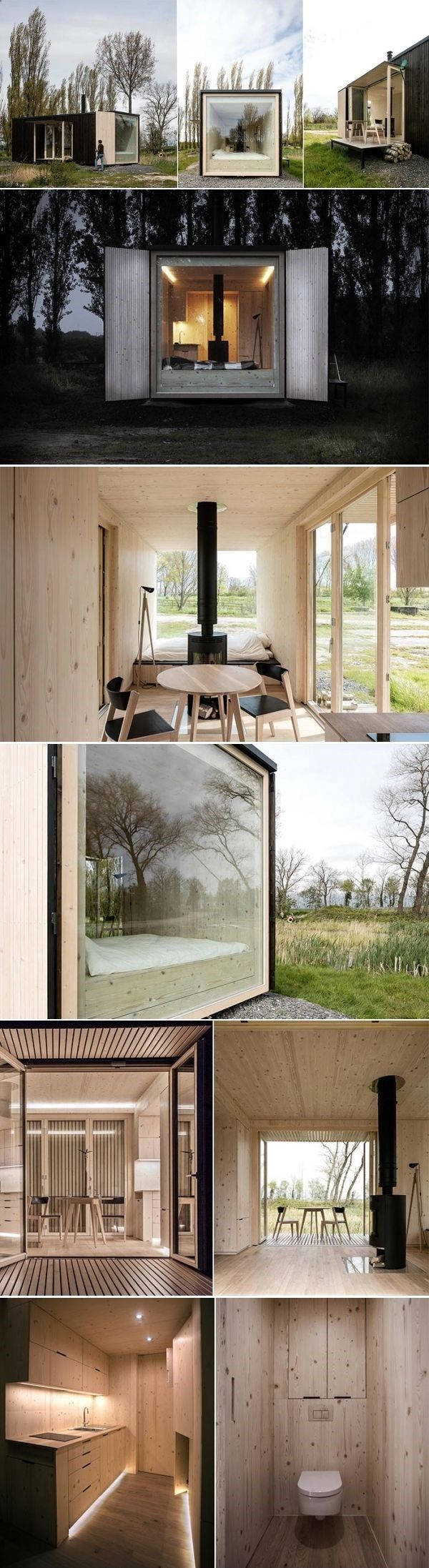 Container House Ark Shelter Prefabricated Cabins