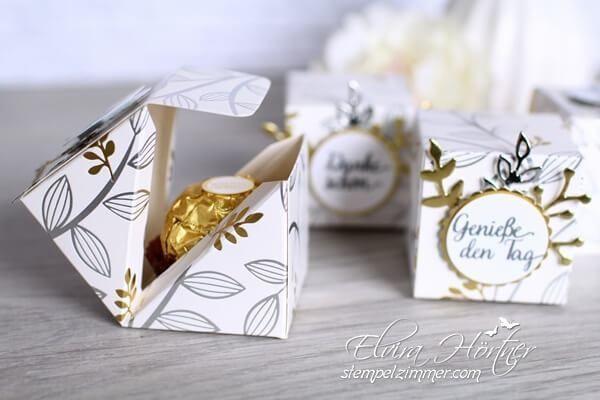 Kleine Box mit diagonalem Verschluss ⋆ Elviras Stempelzimmer