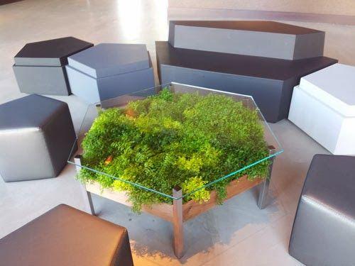 ¡Llena tu casa de verde con una mesa repleta de vida! | Ideas Eco