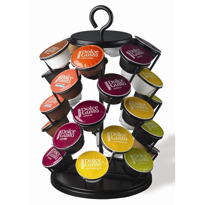 Nifty Home Products 30 Pod Carousel For Nescafe Capsules Dolce Gusto Capsule Coffee Machine Coffee Pods
