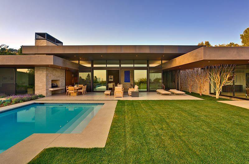 Fachada Casas Modernas Una Sola Planta Proyectos Arquitectura Casas Modernas Arquitectura