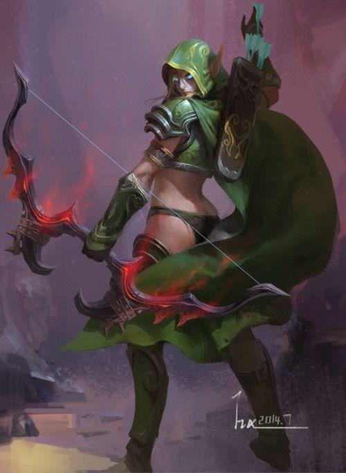 imthenic:  Archer by Haixiang mu
